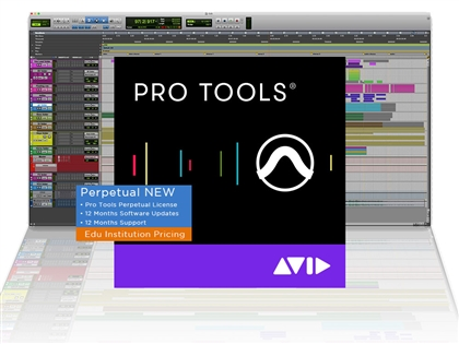 Avid Pro Tools Perpetual - Edu Institutional Pricing