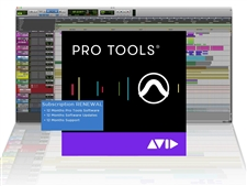 Avid Pro Tools 1-Year Subscription RENEWAL