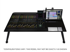 Avid Pro Tools | S6 M10 24-5 Control Surface with Producer Desk and Leg Stands