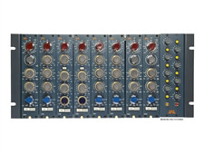 BAE 8-Channel Rack Powered Rack for Neve