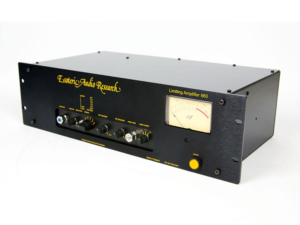 EAR Yoshino 660 Tube Compressor / Limiter