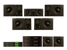 Guzauski-Swist GS-3a Active Studio Monitor 5.1 Surround System