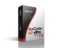 Minnetonka SurCode CD–DTS Encoder and Confidence Monitor