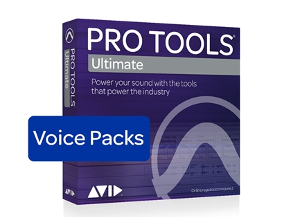 Avid Pro Tools | Ultimate 384 Voice Pack - Perpetual