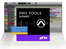 Avid Pro Tools | Ultimate 1-Year Subscription NEW - Education Pricing