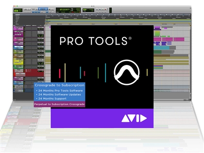 Avid Pro Tools Perpetual CROSSGRADE to 2 year Subscription