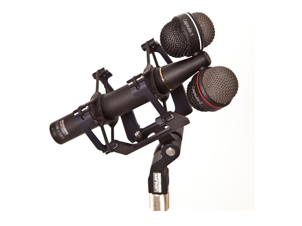Sanken Chromatic CUW-180 Adjustable Stereo 0˚ to 180˚ Dual Cardioid  Condenser Microphone