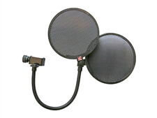 sE Electronics Dual Pro Mic Pop Shield - Metal And Fabric