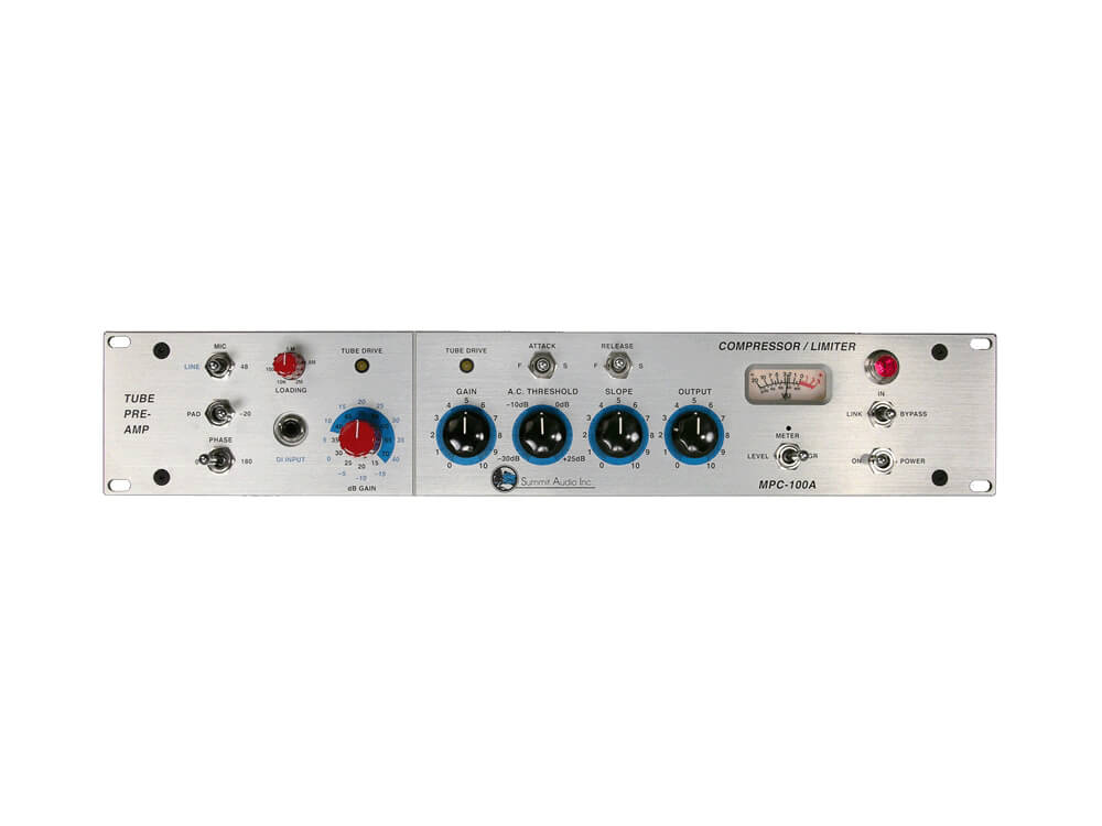 Summit Audio MPC-100A Mic Preamp Compressor