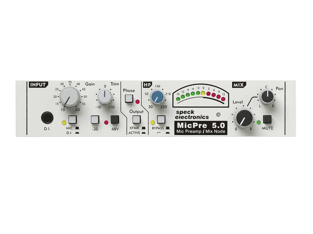 Speck MicPre 5 0 Mic Preamp / Mix Node