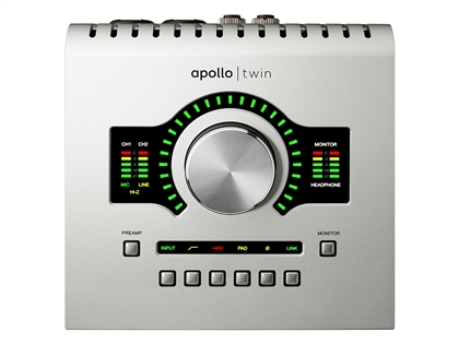 Universal Audio Apollo Twin USB Desktop Interface with Realtime UAD-2 DUO Processing