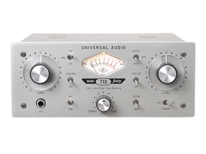 Universal Audio 710 Twin-Finity Tone-Blending Microphone Preamp & DI Box