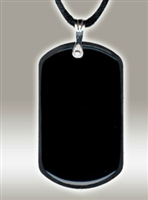 Body Shield: Dog Tag - Black