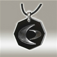 Body Shield: Octagon Style Collection - SCP Silver on Black