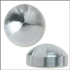 Stainless Steel Dome Style Decorative Cap