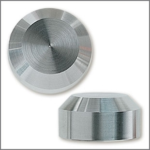 Stainless Steel Chamfer Style Decorative Cap