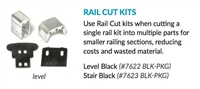 Rail Cut Kit, Stair - Black