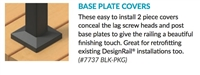Base Plate Cover - Black