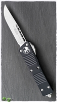Microtech Troodon S/E 139-10 Stonewash Blade Black Handle
