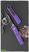 Microtech UTX-70 S/E 148-1PU Black Blade Purple Handle