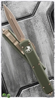 Microtech Ultratech D/E 122-13OD Bronzed AP Blade & HW OD Handle