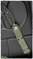 Microtech Troodon D/E 138-1OD Black Blade OD Green Handle