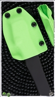 Microtech Kydex Belt Sheath for HALO 6 Toxic Green