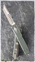 Microtech Ultratech Hell Hound LTD Production 119-13OD Bronzed SW Blade OD Handle