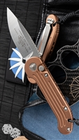 Microtech LUDT 135-4TA Satin Blade Tan Handle