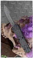 Microtech Troodon Signature Series 140-16CFS Damascus T/E Ringed HW