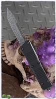 Microtech Troodon Signature Series 140-16S Damascus T/E Ringed HW