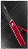 Microtech UTX-85 T/E 233-1RD Black Blade Red Handle