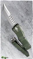 Microtech Troodon Hellhound 619-10OOD Signature Series OD Handle