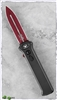 Paragon Para-XD OTF Auto Smooth Black Handle Red Blade
