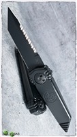Paragon Dredd Lock Gravity Blade Black Tactical Serrated