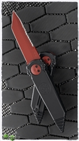 Paragon DrEDDlock Gravity Blade Trap Folder Black Handle Red Blade & HW