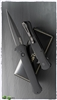 Protech Large Don Auto 1921 Black Handle Black Finish Blade