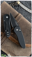 Protech Sprint 2907 Black Handle Black Blade
