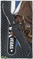 Benchmade Triage AXIS Lock Knife Black G10 917SBK-1901