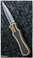 BURN Knives Palm Viper Custom D/A OTF Brass Chassis LSCF