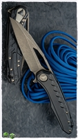 Marfione Custom Sigil Bronzed Apocalyptic Blade DLC Handle with Damascus Plate