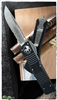 Microtech Combat Troodon 143-5 Satin Finish Serrated Single Edge Blade