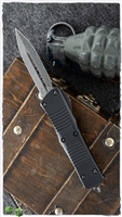 Microtech Troodon Signature Series 138-16 Damascus Ringed HW