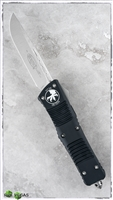 Microtech Combat Troodon D/A OTF S/E 143-4 Satin Blade Black Handle