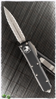 Microtech UTX-85 D/E 232-D12AP Double Full Serrated AP Blade