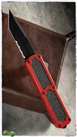 Titan D/A OTF Automatic Knife Red