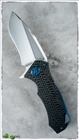 Marfione Custom Star Lord Satin Finish Carbon Fiber Chassis Blued HW