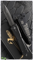 Marfione Custom Combat Troodon Compound Ground Recurve DLC Two-Tone Apocalyptic Blade w/ DLC Ringed Ti HW