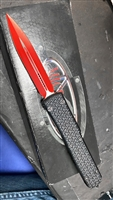 Microtech Ultratech D/A OTF Tri-Grip Red Double Edge Sith Lord