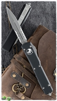 Microtech Ultratech 122-11AP Apocalyptic Serrated Blade
